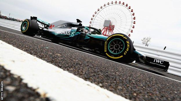 Lewis Hamilton Japanese GP 2018