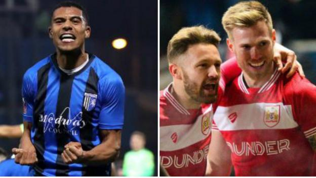 FA Cup round-up: Gillingham shock Cardiff and Bristol City surprise Huddersfield 1