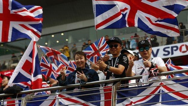 Lewis Hamilton fans