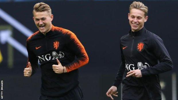 De Ligt and De Jong