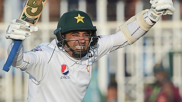 Pakistan v Sri Lanka: Abid Ali becomes first batsman to score centuries on Test and ODI debuts