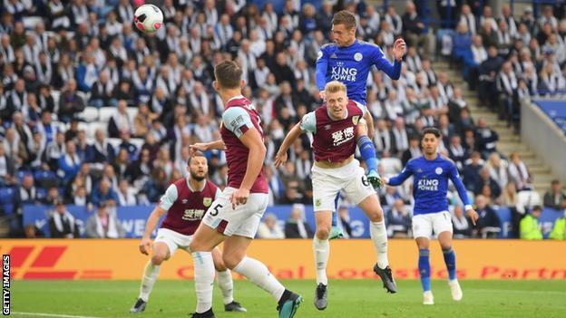 sport Leicester City v Burnley in October 2019