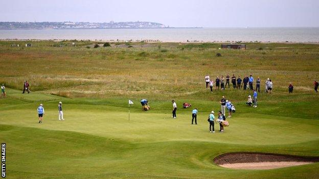 The Open returns to Royal St George's for the first time since 2011