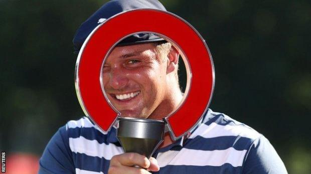 DeChambeau collected the rocket Mortgage Classic trophy in what was his sixth PGA Tour win