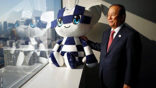 Tokyo 2020 CEO Toshiro Muto