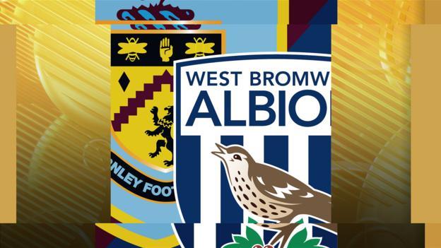 Burnley v west brom