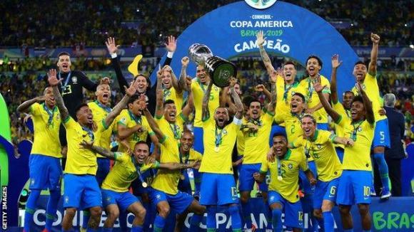 Brazil win Copa America