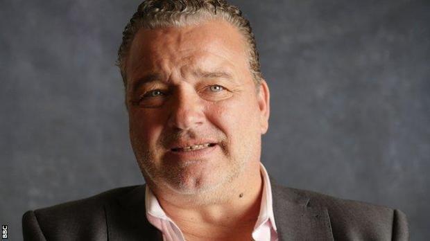 Paul Stewart, headshot.