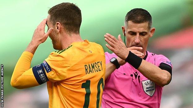 Wales captain Aaron Ramsey
