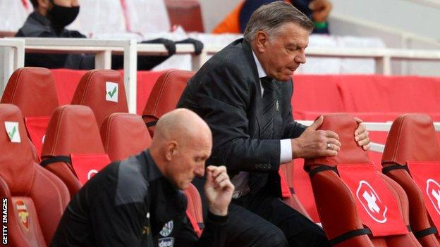 Sam Allardyce has been relegated from the Premier League for the first time