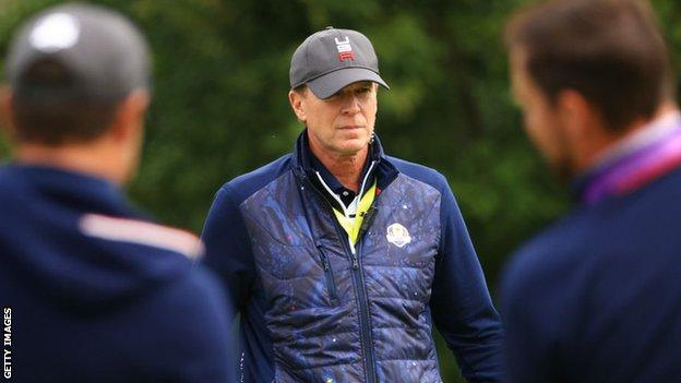 , Stricker urges US fans to 'respect' Europe at Ryder Cup, The Evepost BBC News