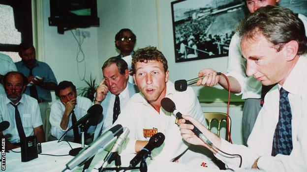 Mike Atherton in 1994