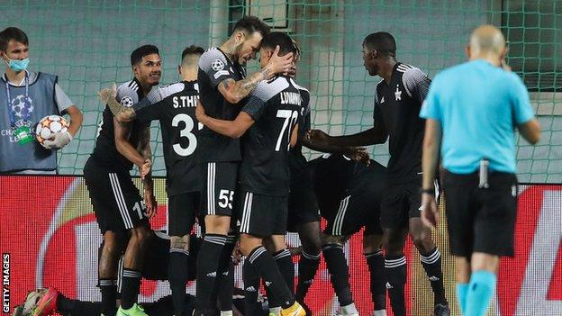 Sheriff Tiraspol beat Dinamo Zagreb in a play-off to become the first Moldovan league team to reach the Champions League group stage