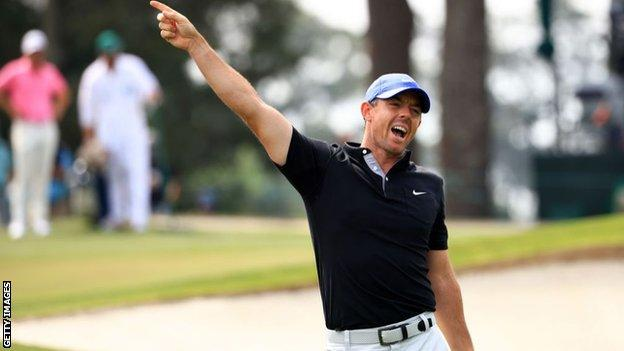 Rory McIlroy needs the Masters to complete a career Grand Slam