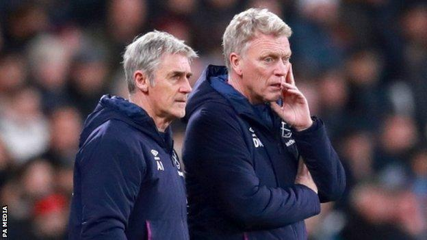 Alan Irvine and David Moyes