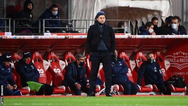 PSG boss Mauricio Pochettino