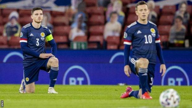 Andy Robertson and Callum McGregor
