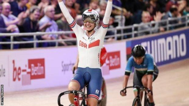 Elinor Barker has 15 major titles in her cycling career