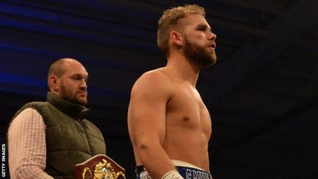 Tyson Fury Thanked By Billy Joe Saunders For Putting Him