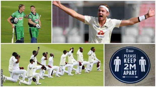Ireland, Stuart Broad, West Indies and the bio-secure bubble