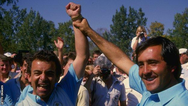 , 'The Americans haven't cornered ambition' – how Europe's 'buzz' culture has brought Ryder Cup success, The Evepost BBC News