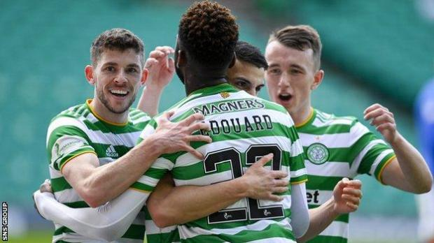 In a game of few standout players, Edouard was the most lively, and his cross for Elyounoussi's goal was terrific