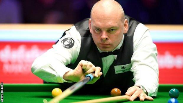 Snooker player Stuart Bingham
