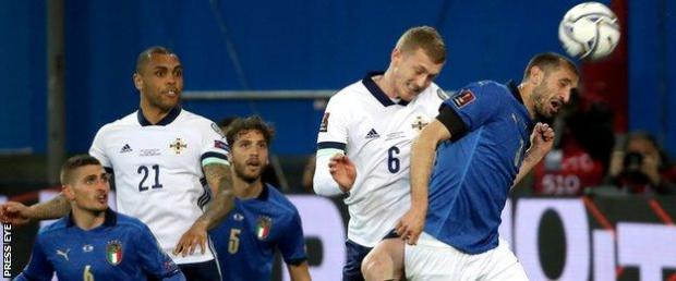 Northern Ireland were unable to break Italy's long unbeaten run