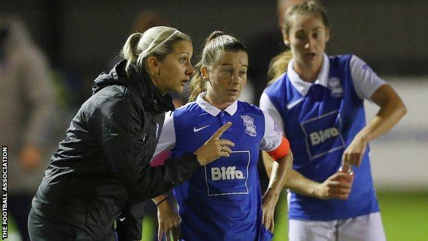Birmingham boss Carla Ward