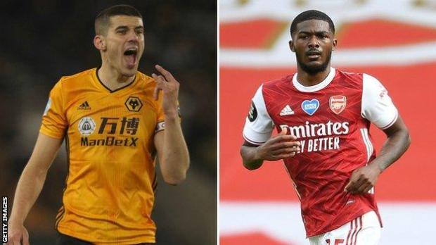 Conor Coady and Ainsley Maitland-Niles