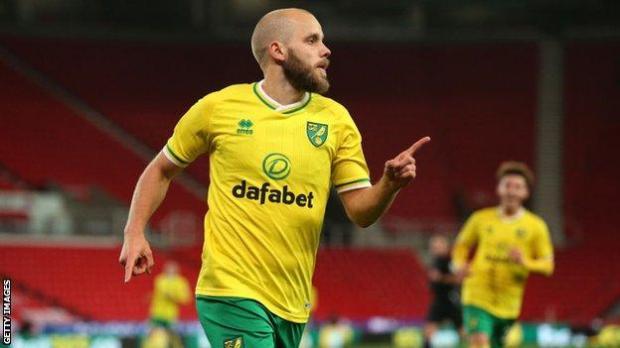 Norwich striker Teemu Pukki