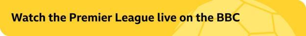 Premier League promo banner