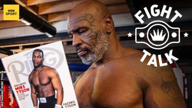 Former heavyweight champion of the world Mike Tyson