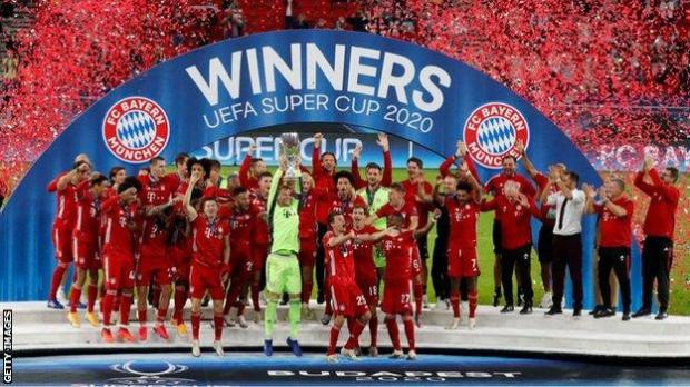 Bayern Munich have won four trophies in 2020