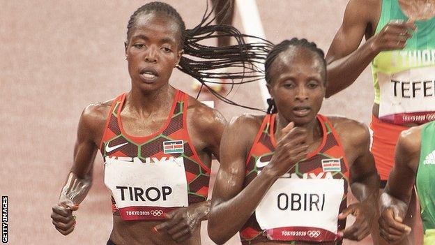 , Tributes pour in for killed Kenyan athlete, The Evepost BBC News