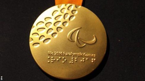 Rio 2016 Paralympic medal