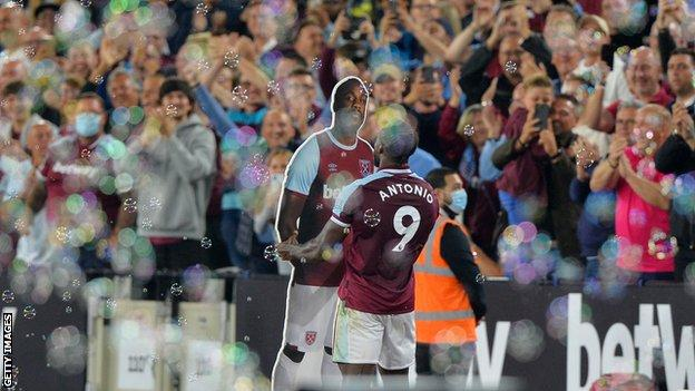 , How 'resilient' non-leaguer Antonio became West Ham record-breaker, The Evepost BBC News