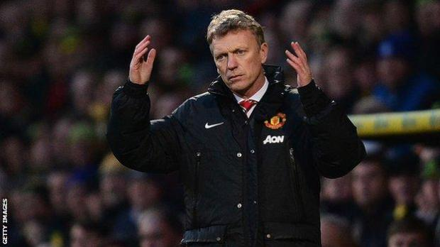 David Moyes as Manchester United manager