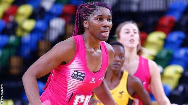 Agbeze captained England to gold in netball at the 2018 Commonwealth Games