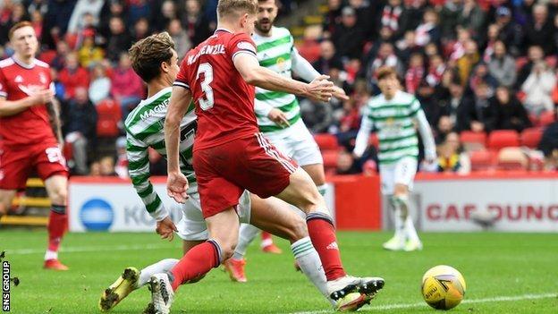 Jota goal v Aberdeen