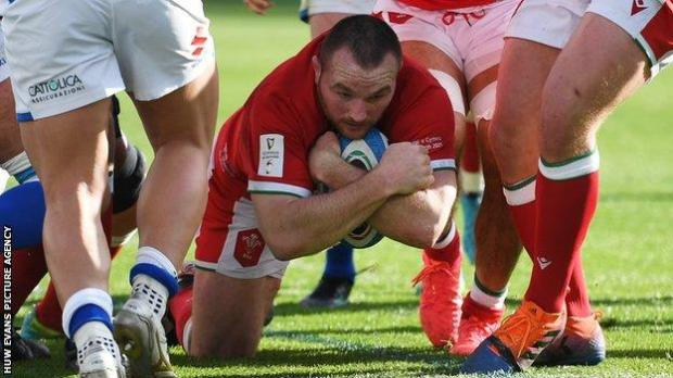 Ken Owens has now scored five tries in 81 internationals for Wales and played two tests for the British and Irish Lions