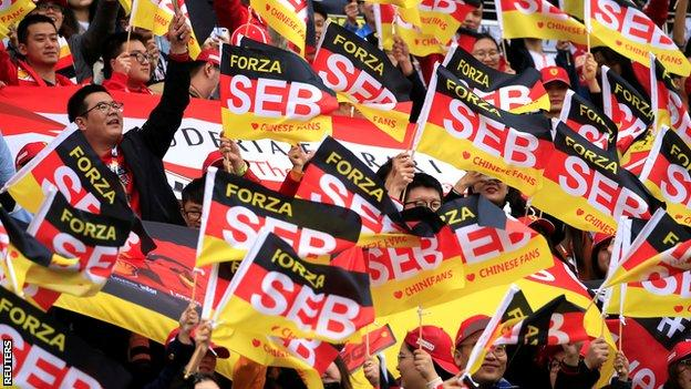Sebastian Vettel fans