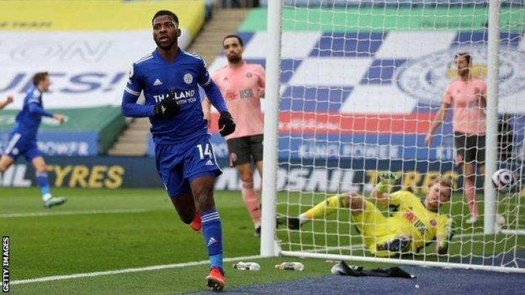 Leicester City 5-0 Sheffield United: Kelechi Iheanacho scores hat-trick as  Blades begin life after Chris Wilder with defeat - BBC Sport