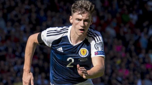 Image result for kieran tierney scotland