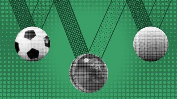 Sports medals graphics