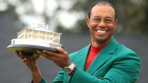 Tiger Woods: Masters win follows career doubts and changes children's perspective 1