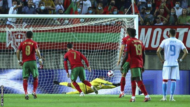 , Ronaldo grabs hat-trick as Portugal thump Luxembourg, The Evepost BBC News