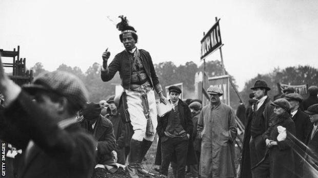 Monolulu at Epsom in 1923