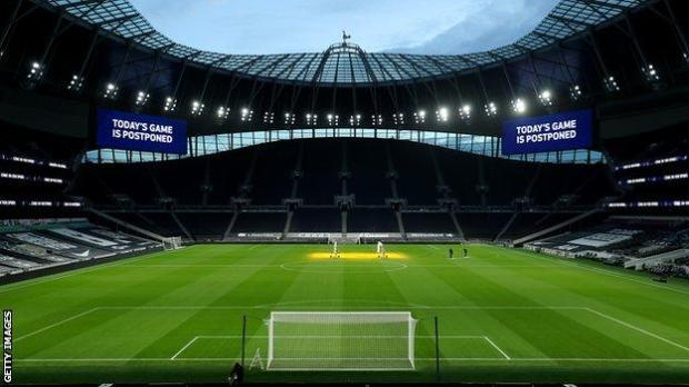 Fulham's previous Premier League match against Tottenham was postponed