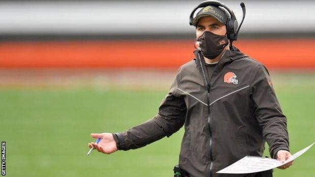 Cleveland Browns head coach Kevin Stefanski